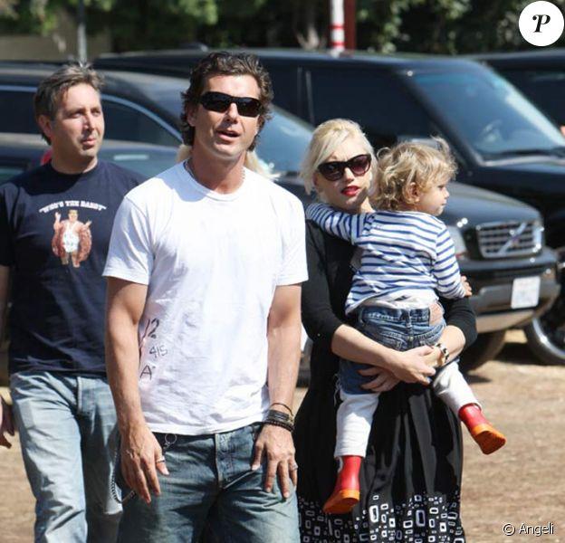 Gwen Stefani, Gavin Rossdale et Kingston