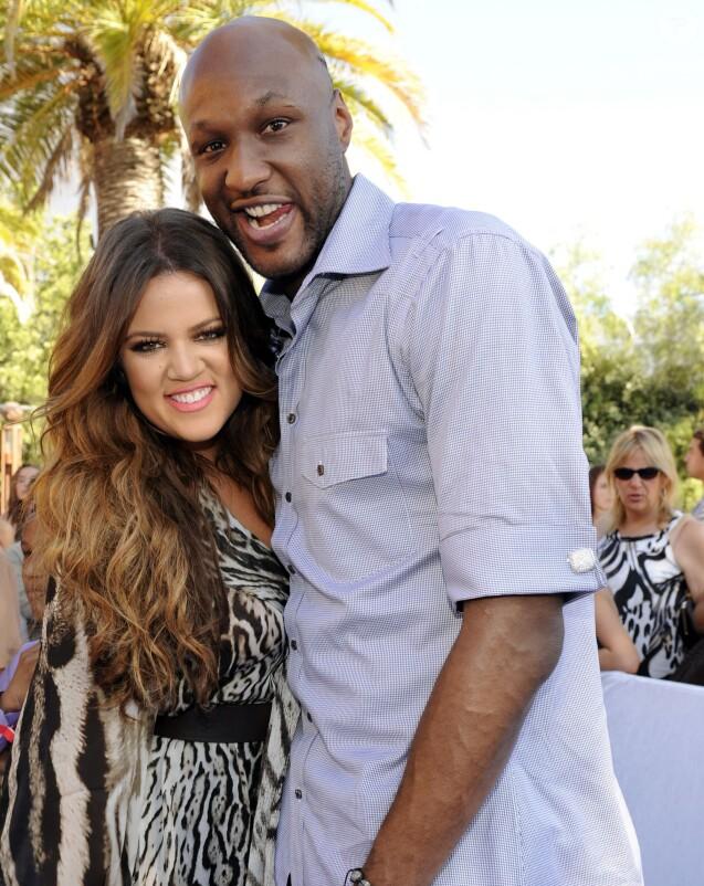 Lamar Odom et Khloé Kardashian lors des Teen Choice Awards 2011 au Gibson Amphitheatre de Universal City le 7 août 2011