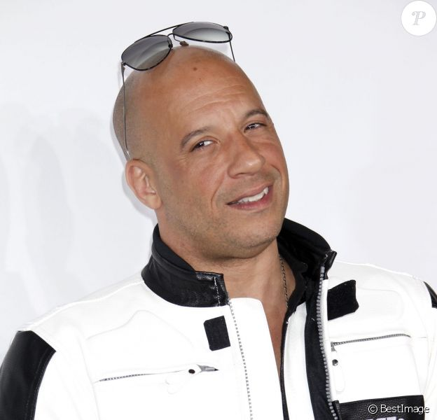 """Vin Diesel lors de l'avant-première du film """"Fast and Furious 7"""" à Hollywood, le 1 avril 2015.  Celebrities at the Los Angeles premiere of 'Furious 7' at the Chinese Theatre in Hollywood, California on April 1, 2015.01/04/2015 - Hollywood"""