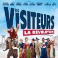 Affiche officielle de Les Visiteurs 3 - La Révolution.
