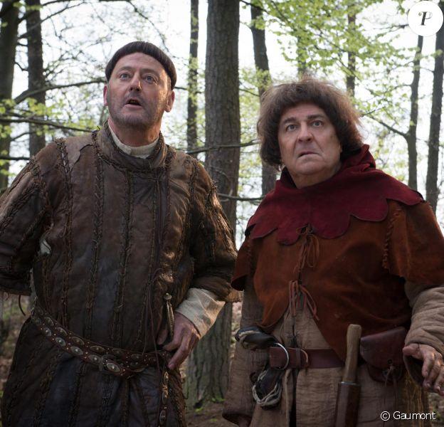 Jean Reno et Christian Clavier dans Les Visiteurs 3
