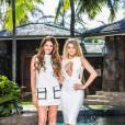 Coralie et Mélanie - Photos officielles des Anges 8 : Pacific Dream