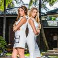 Coralie et Mélanie (Secret Story 9) - Photos officielles des Anges 8 : Pacific Dream