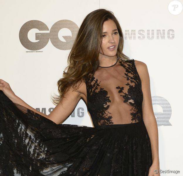 """Malena Costa - Cérémonie des """"GQ Men Of The Year Awards"""" au Palace Hotel à Madrid, le 3 novembre 2014."""