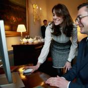 Kate Middleton à la une : Sa journée spéciale au HuffPost, rédac' chef et maman