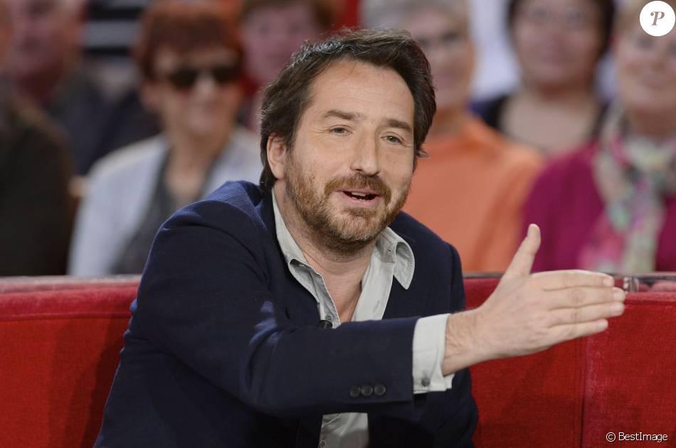"""Edouard Baer - Enregistrement de l'émission """"Vivement Dimanche"""" diffusée le 17 janvier 2016."""