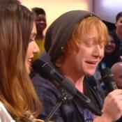"Joyce Jonathan en duo avec Rupert Grint (Harry Potter) : ""C'est un naufrage"""