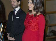 Sofia de Suède : A 8 mois de grossesse, la princesse expose fièrement son ventre