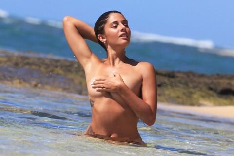 Coralie Porrovecchio (Les Anges): Topless et ultrasexy à Hawaï, l'ex-Miss au top