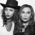 Beyoncé Knowles et sa mère Tina à la soirée d'anniversaire de Kelly Rowland qui fêtait ses 35 ans au Sunset Tower Hotel à West Hollywood. Le 20 février 2016.
