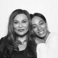 Tina Knowles et sa fille Solange à la soirée d'anniversaire de Kelly Rowland qui fêtait ses 35 ans au Sunset Tower Hotel à West Hollywood. Le 20 février 2016.