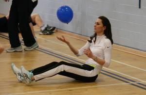 Kate Middleton : Grosse séance de sport avec la mère d'Andy Murray !