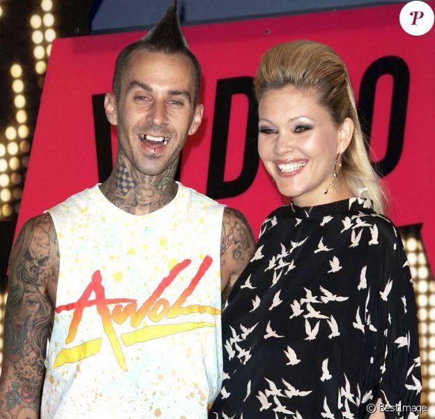 Travis Barker et Shanna Moakler lors des MTV Video Music Awards à Las Vegas, le 9 septembre 2007