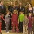 La princesse Letizia d'Espagne au palais de la Zarzuela