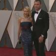 Naomi Watts et Liev Schreiber aux Oscars.