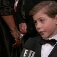 Jacob Tremblay (Room) - 88e cérémonie des Oscars à Los Angeles le 28 février 2016