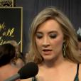 Saoirse Ronan aux Oscars.