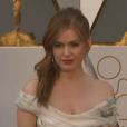 Isla Fisher aux Oscars 2016