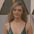 Saoirse Ronan aux Oscars 2016.