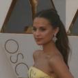 Alicia Vikander aux Oscars 2016