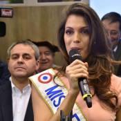 Iris Mittenaere (Miss France 2016) : Médailles et dégustations parmi les animaux