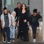 Angelina Jolie radieuse avec ses enfants, après des retrouvailles avec Brad