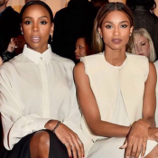 Fashion Week : Ciara et Kelly Rowland, lumineuses spectatrices du défilé Lanvin