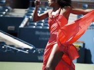 PHOTOS : Quand Venus et Serena Williams  jouent au tennis.... en robes sexy et talons hauts !