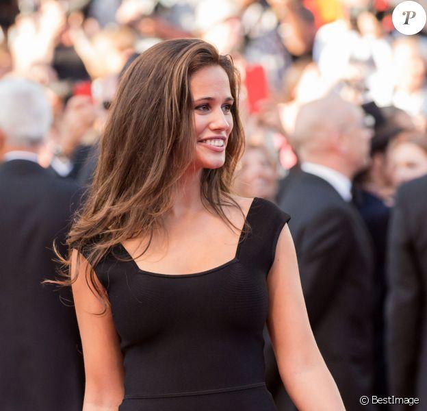 Lucie Lucas lors du 68e Festival International du Film de Cannes, le 17 mai 2015.