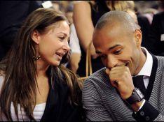 REPORTAGE PHOTO : Thierry Henry sous le charme d'une sublime inconnue...