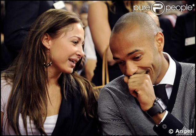 Thierry Henry couple