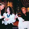 Avant l'accident : Siegfried et Roy avec Michael Jackson