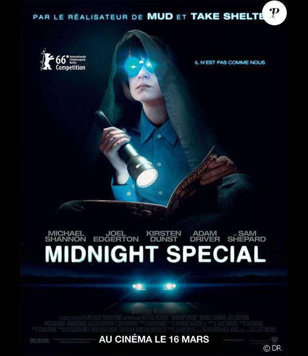 Affiche du film Midnight Special, en salles le 16 mars 2016