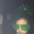 """""""North West lors del'anniversaire de Rob Kardashian Jr. au restaurant Nobu de Malibu.Photo publiée sur le compte Snapchat de Kim Kardashian, le 17 mars 2016."""""""