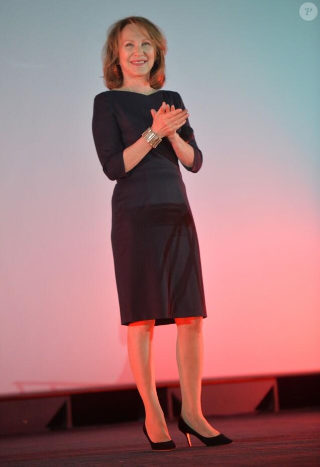 Nathalie Baye - Hommage à Nathalie Baye- Cérémonie de clôture du 6e festival 2 Valenciennes le 19 mars 2016 © Veeren Ramsamy / Bestimage