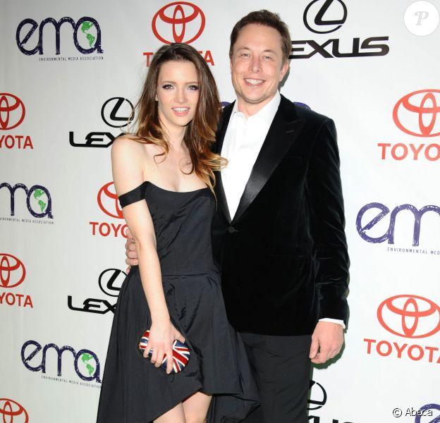 Talulah Riley et Elon Musk, le 30/09/2012 - Los Angeles