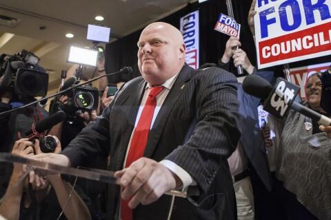 Rob Ford : L'excentrique maire de Toronto est mort...