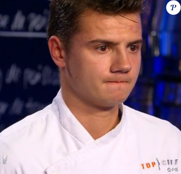 """Gabriel est éliminé - """"Top Chef 2016"""" sur M6. Emission du 28 mars 2016."""