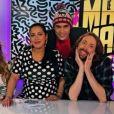 """Eric Lampaert sur le plateau du """"Mad Mag"""" sur NRJ12, le 25 mars 2016."""