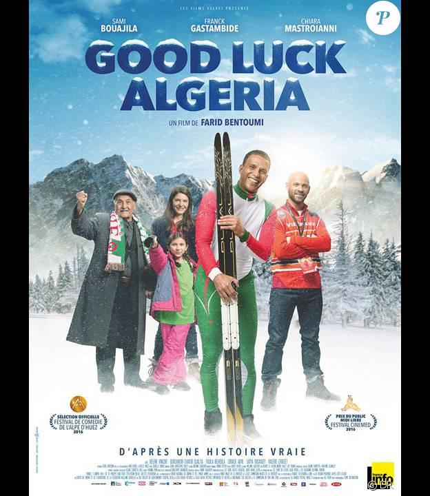 Affiche du film Good Luck Algeria en salles le 30 mars 2016