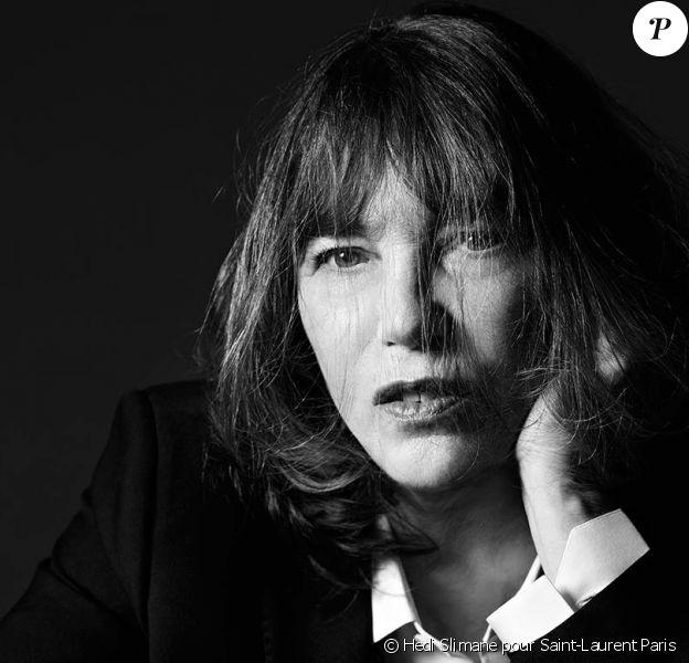 Jane Birkin, nouvelle égérie pour la maison Saint-Laurent Paris
