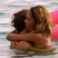 Marco et Naëlle à la plage dans Bachelor, sur NT1, le lundi 28 mars 2016