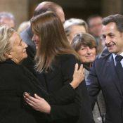 REPORTAGE PHOTOS : Carla et Bernadette, très proches lors du dernier hommage à soeur Emmanuelle !