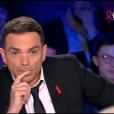 Yann Moix dans  On n'est pas couché  sur France 2, le samedi 2 avril 2016.