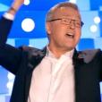 Laurent Ruquier, très agacé par les propos tenus par Patrick Sébastien dans son livre, remet les pendules à l'heure, dans  On n'est pas couché  sur France 2, le samedi 2 avril 2016.