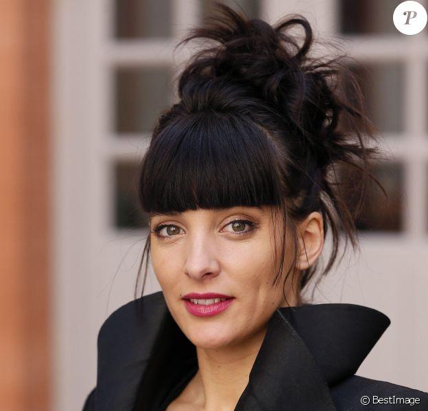 """Exclusif - Erika Moulet (membre du jury) pose lors du Grand Gala """"Les Fous Rires de Toulouse"""" à Toulouse le 13 mars 2016. © Patrick Bernard/Bestimage"""