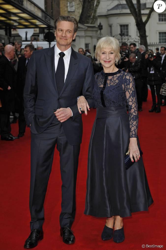 Colin Firth et Helen M...