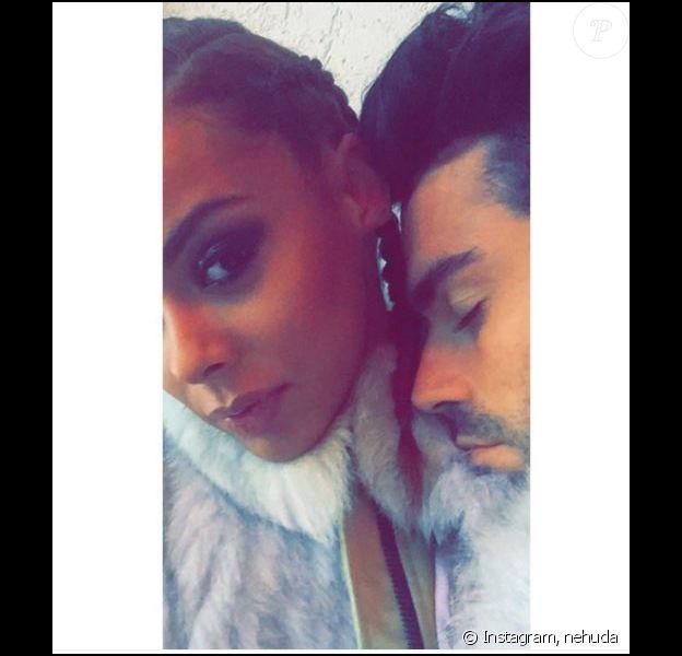 Nehuda et Ricardo des Anges 8 in love sur Instagram, mardi 12 avril 2016