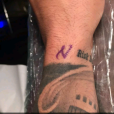"""Ricardo des """"Anges 8"""" s'est fait tatouer un """"N' en l'honneur de sa petite amie Nehuda"""
