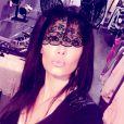 """Nathalie, quadra des """"Anges 7"""", ne cesse de s'afficher sur Instagram. Février-mars 2016."""